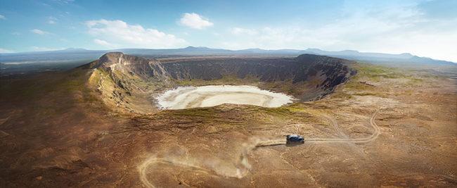 Crater Saudi Arabien
