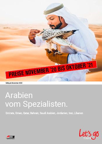 Arabien Preisliste Neu