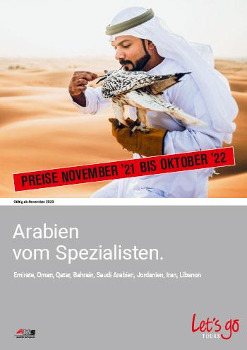 Cover Arabien PL 21-22