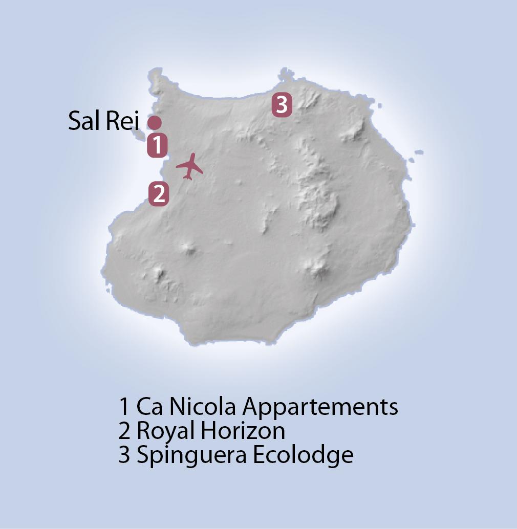Karte Boavista