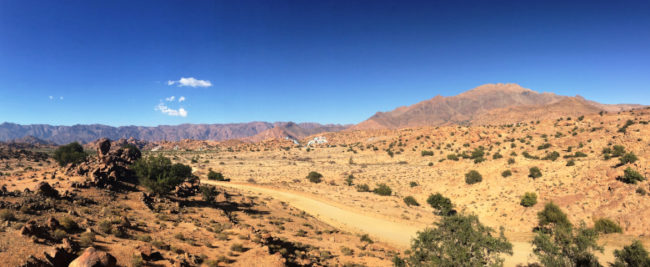 Landschaft in Marokko