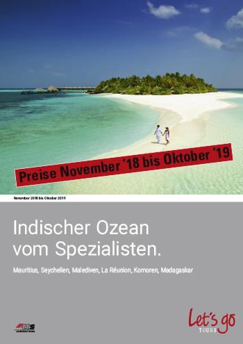 Preisliste Indischer Ozean