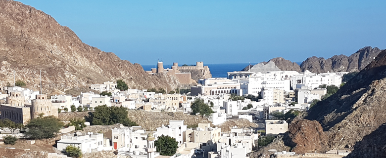 Fabian Thalmann im Oman VIP Studienreise