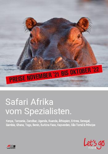 Cover Safari Afrika PL 21-22