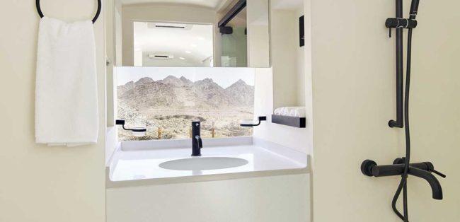 Sedr Trailers Resort Bathroom