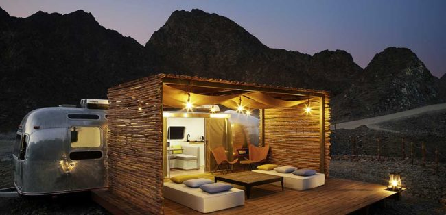 Sedr Trailers Resort Outside