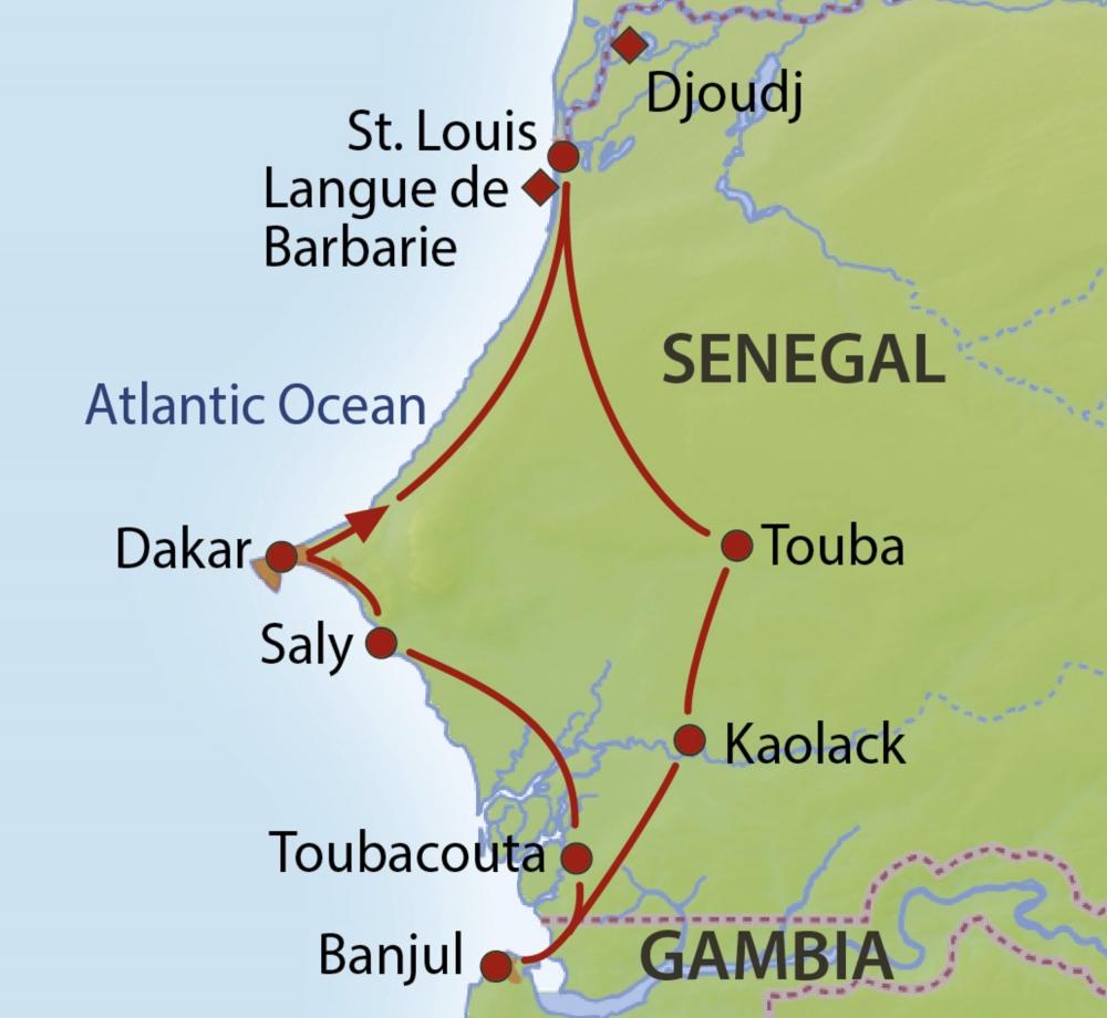 Senegal Gambia Rundreise