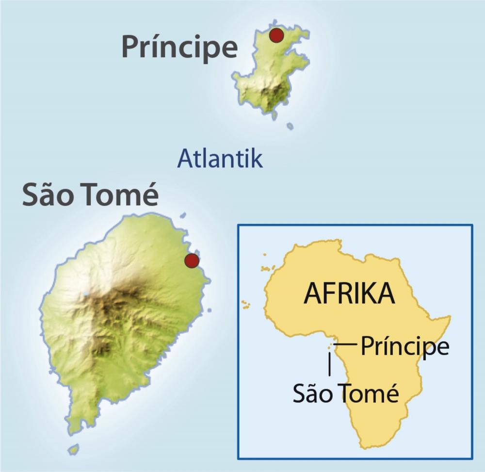Birding Auf Den Inseln Westafrikas Sao Tome Principe